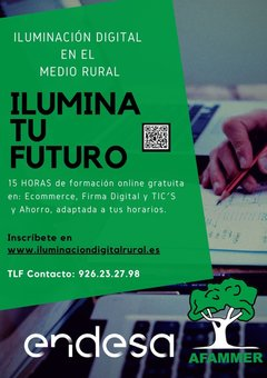 Iluminación digital en el medio rural