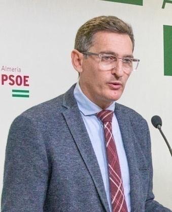 José Luis Sánchez Teruel, secretario PSOE Almería