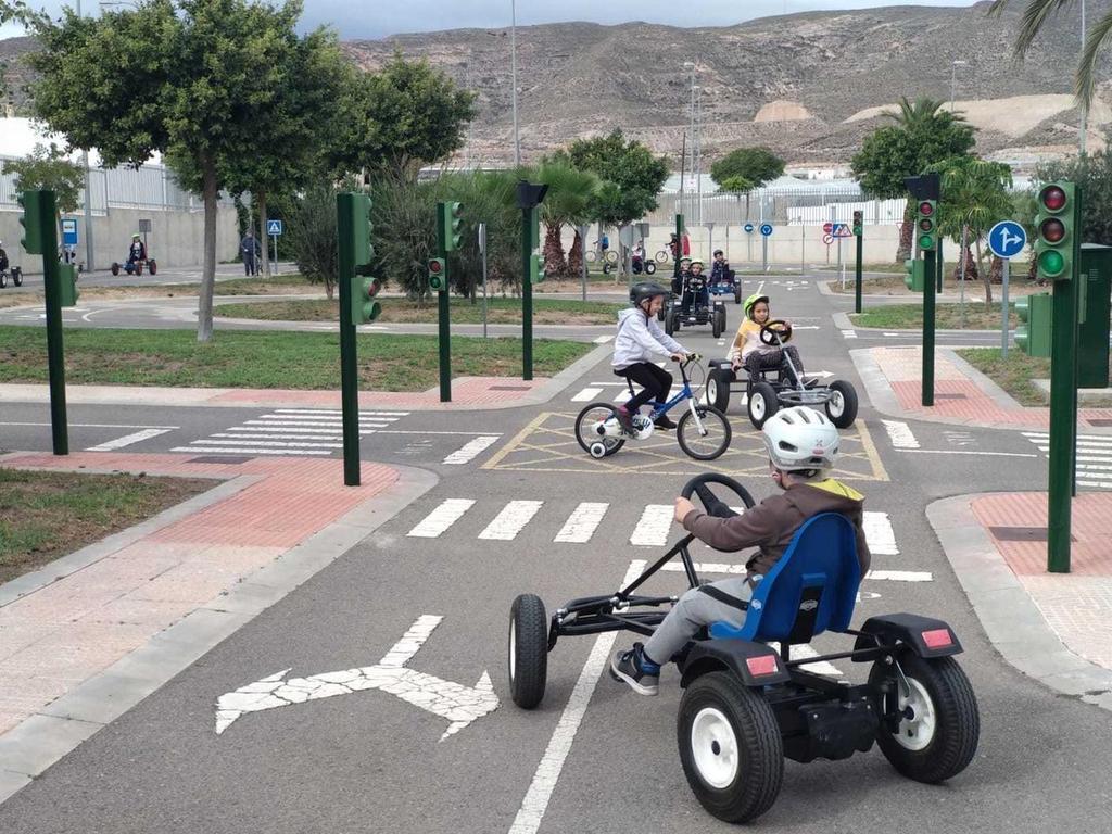 Programa de educación vial llevado a cabo en Vícar